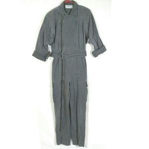 Vtg 80s acid wash jumpsuit